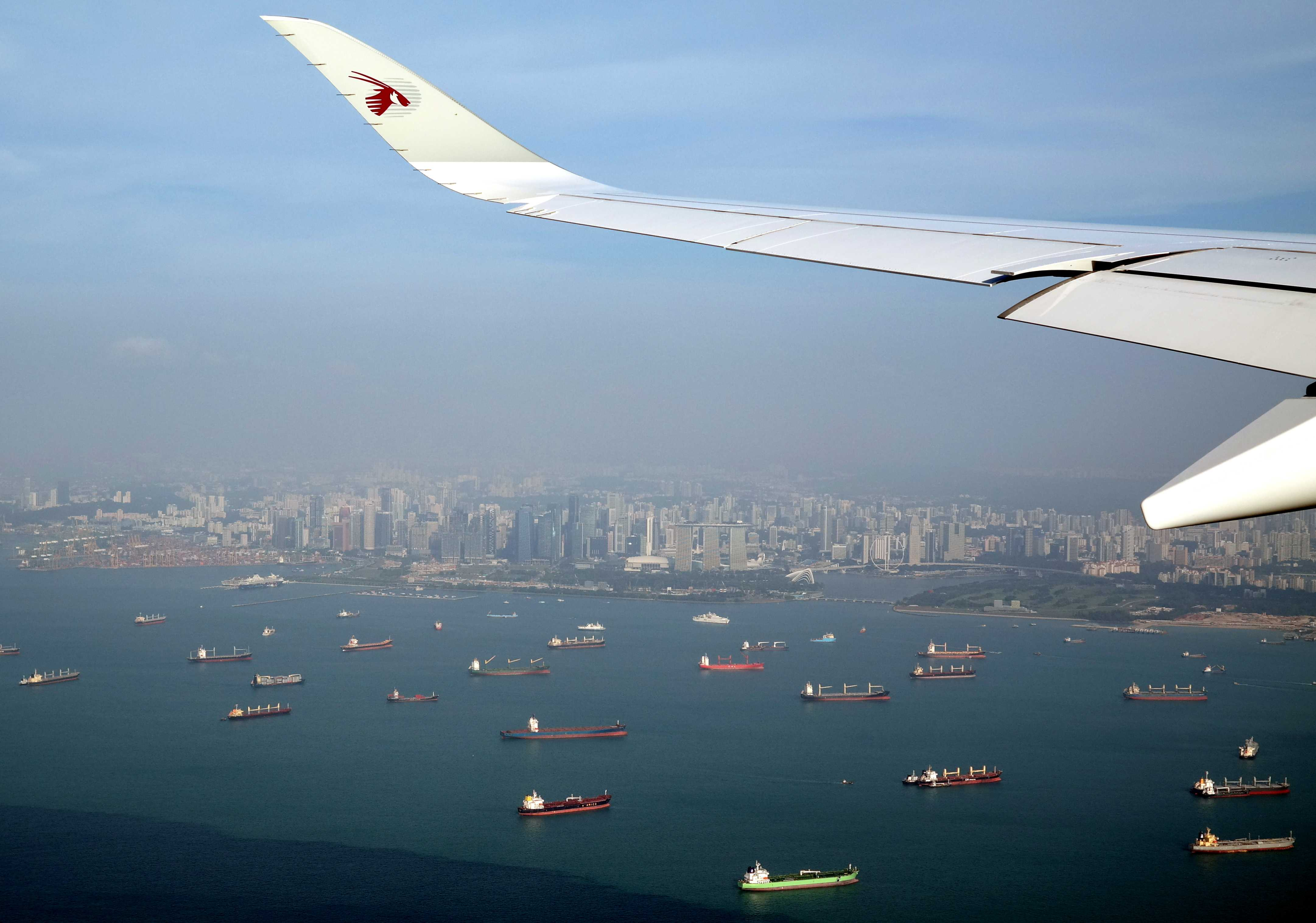 Fantastic Best Plane Window Seat View Between Doha And Singapore Machost Co Dining Chair Design Ideas Machostcouk